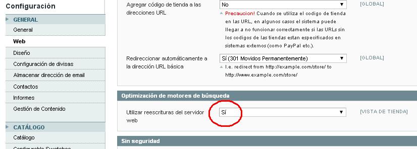 index.php en magento